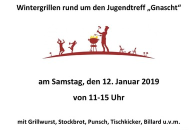 Wintergrillen des Kinder- und Jugendreferates